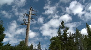 Stock Video Footage of Lake Tahoe Sky