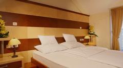 hotel room - stock footage
