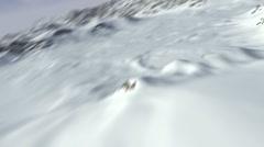 CG Mountains 04 (1080p 23.976) Stock Footage