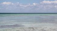 Caribbean ocean.  Stock Footage
