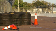 St. Petersburg Prepping For Indy Car Race Stock Footage