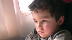 Slepply Passenger - stock footage