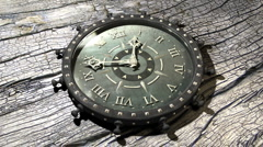 Time Flies - Time Lapse Old Clock 16 (HD) Stock Footage