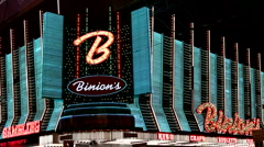 Binion's gambling hall and hotel Stock Footage