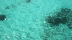 Stock Video Footage of Travel over turquoise water.