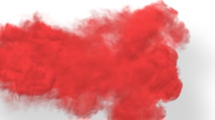 RED Smoke Stock Footage