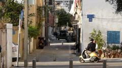 Tel Aviv Neve Zedek  P6 Stock Footage