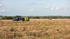 Harvest season Stock Footage