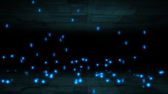 Falling particles. - stock footage