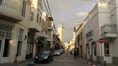Tel Aviv Neve Zedek P1 Stock Footage
