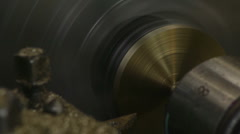 Processing Products Lathe Stock Footage