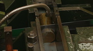 Automatic Sawing Machine Stock Footage