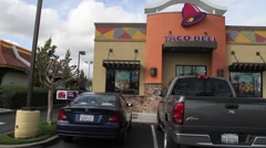 Taco Bell - stock footage