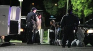 Illegal Immigrants Arrested Stock Footage