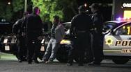 Arresting Criminal Stock Footage