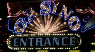 Stock Video Footage of Casino entrance Las vegas V1 - HD
