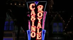 Casino royale V2 - HD Stock Footage