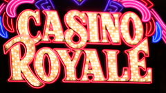 Casino royale V1 - HD - stock footage