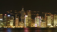 Stock Video Footage of Hong Kong Symphony of Lights