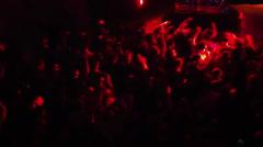 DJ Crowd Stock Footage