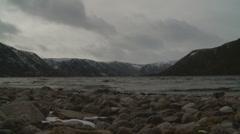 Timelapse Loch Muick 2 (zoom in) Stock Footage