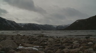 Timelapse Loch Muick 2 (zoom in) Stock Footage
