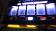 Slot Machine Glow Stock Footage