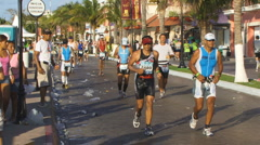 Ironman Cozumel  Stock Footage