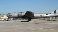 B 29 - stock footage