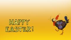 Easter Greetings Stock Footage