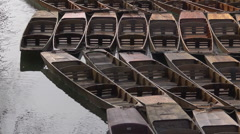 Oxford punts 2 Stock Footage