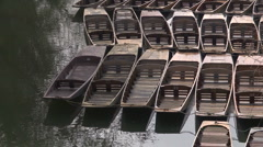 Oxford punts 1 Stock Footage