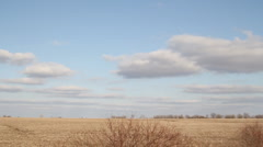 Country Drive - Farmland, homes, livestock - Driving - stock footage