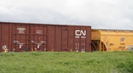 Stock Video Footage of Railway Cargo 5709