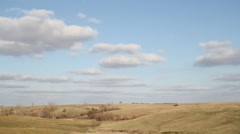 Country Drive - Iowa counrtyside w/ homes - Driving Stock Footage