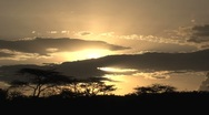 Stock Video Footage of Kenya sunset time lapse