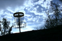 Disc golf V10 - NTSC Stock Footage