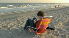 Boy Beach PSP 01 Stock Footage