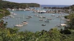Antigua Nelson's Dockyard Stock Footage