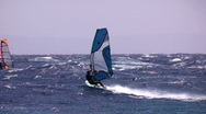 High jump  windsurfing freestyle Stock Footage