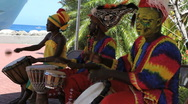 Stock Video Footage of Mdn play instruments in Grenada