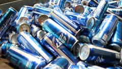 Beer Cans Stock Footage