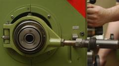 Semi Automatic Industrial Machine Stock Footage