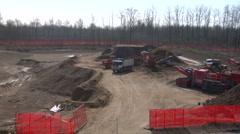 Contruction site 02 Stock Footage