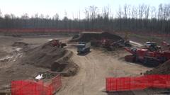 Contruction site 03 Stock Footage