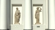 Stock Video Footage of Priestess of goddesses and goddess Demeter, St. Petersburg, Russia
