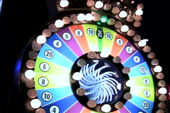 Wheel of fortune Las Vegas V1 - NTSC - stock footage