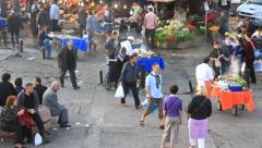 Open market Stock Footage