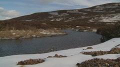 Loch Muick Landscape 10 (Scotland) Stock Footage