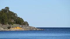 Swedish east coast Stock Footage